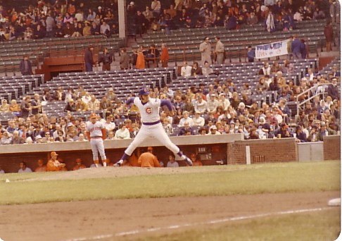 Dad against the Astros in 1973